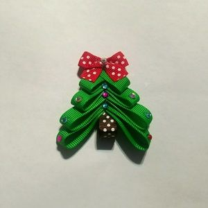 Other - Christmas Tree Hairbow
